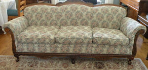 Antique 1920s sofa