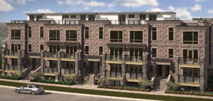 Pre-Construction Stacked Town Home in Sheppard Ave W