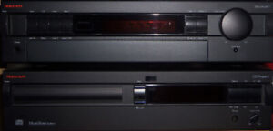 NAKAMICHI RECEIVER 1 AND CD PLAYER 2 SET