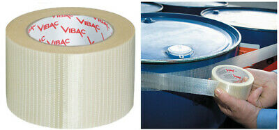 tape reinforced for packing packaging mm 50x50 mt clear
