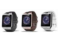 dfz09 bluetooth smart watch (can be linked to your phone )