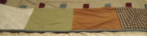 cocalo window valance boys browns, green and blue