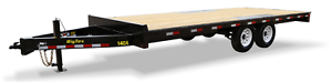 BIG TEX 18' DECK OVER-THE-AXLE BUMPERPULL TRAILER!