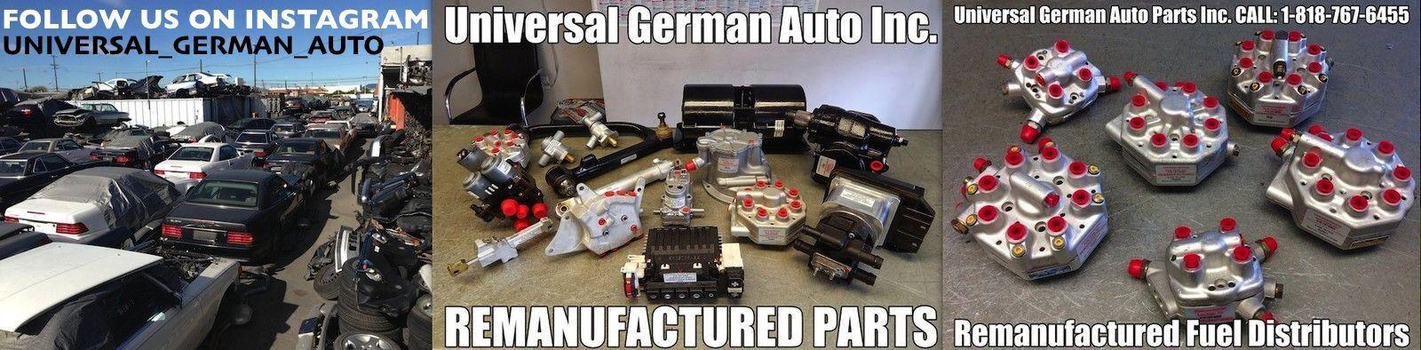 Universal German Auto Parts Inc.