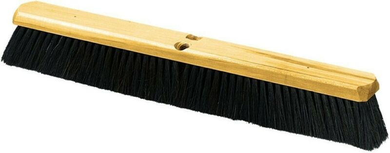 Carlisle 4513500 Flo-Pac Fine/Med. Floor Sweep W/Wire Center, Tampico Bristles *