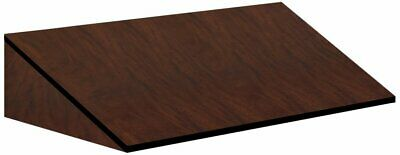 Sloping Hood For 24 In. Deep Locker In Mahogany 3054mah By Salsbury Industries