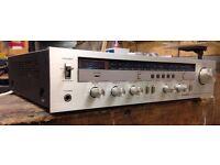 Vintage Pioneer SX-600L Receiver/ Tuner-Amplifier, Silver Face