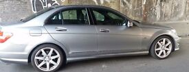 Mercedes silver c220 sports automatic disel blue eficiency