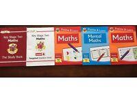 Year 6 Sats books Maths and English