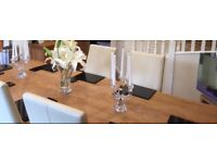 IMMACULATE CON. 8 Place Setting John Lewis Black Granite Dinner Place Mats & Coasters £30.