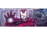 Street Art - Graf Graffiti - Murals - LARGE/small - Commission Artist Nationwide