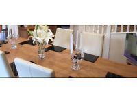 IMMACULATE CON. 8 Place Setting John Lewis Black Granite Dinner Place Mats & Coasters £50.