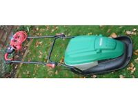 1500W Qualcast Electric Hoover Push Mower with Vac and Pac Collection