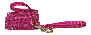 ciliegia-rosa-brillante-Cane-Chihuahua-CUCCIOLO-Guinzaglio-tessuto
