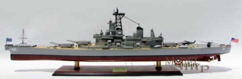 USS New Jersey (BB-62) - Handcrafted War Ship Display Model 39""