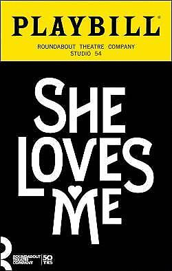 Playbill She Loves Me Laura Benanti Zachary Levi Jane Krakowski Retro Cover 2016