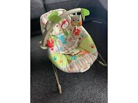 Fisher price happy Forrest baby bouncer