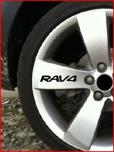 SET-OF-8-RAV-4-RAV4ALLOY-WHEEL-STICKERS-4X4-OFF-ROAD