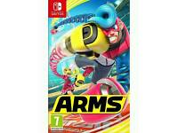 Wanted - ARMS Nintendo switch game