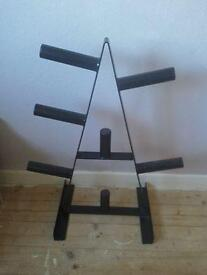 """Weight tree for olympic plates (2"""" hole)"""