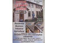 gutter clearout ( Ballymena, Ballyclare, Glengormley, Antrim, Randalstown)