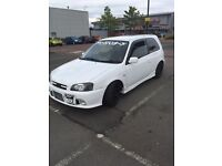 Toyota Starlet Glanza sale or swap