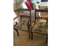 Dining Chairs x8