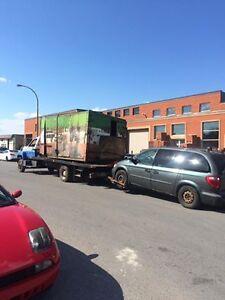 Achat d'auto&camion pour la scrap/we buy car/truck for scrap