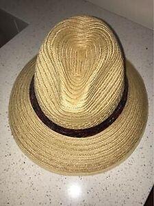 Akubra Straw Hat fedora