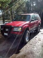 Lifted 2001 Ford Explorer Sport SUV