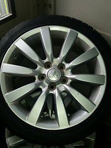 pneus d'été avec jantes 215 45 R18