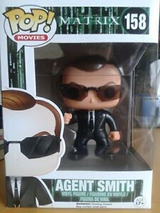 The Matrix Agent Smith Funko Pop Vinyl figure