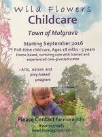 Wild Flowers Childcare, Mulgrave