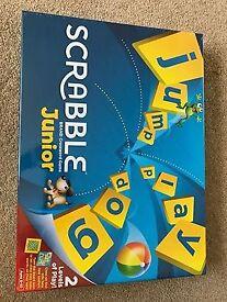 Junior Scrabble. Brand new in box, still sealed.