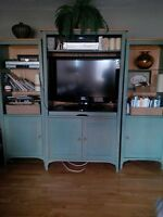 3 pieces tv cabinet for sale