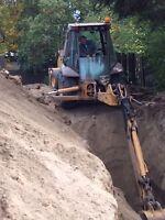 Excavator/Operator for hire