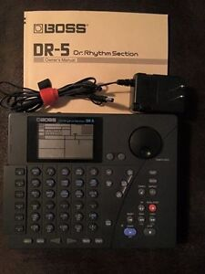 """""""PRICE REDUCED"""" Boss DR-5 drum machine, sequencer"""