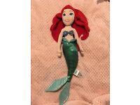Original Disney store Little mermaid plush doll 55cm