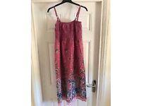Ladies summer dress size 16