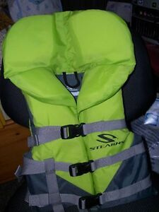 New condition, childs life jacket
