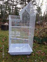 ❤❤Grande cage/Volière presque neuve❤❤