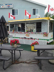 Food/Fry/Chip Trailer for Sale or Partner-all year location