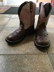 Justin cowgirl boots