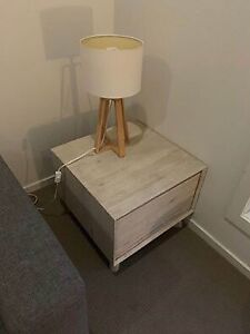 Lamp side table x2
