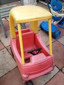 smoby car good condition only £7.00