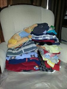 HUGE boys clothing lot sizes 0-6 months