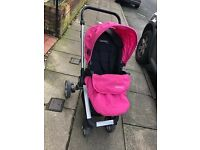 Baby Stroller, High Chair & Toilet Steps
