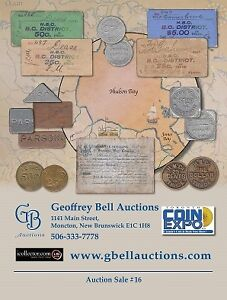 Coin, Banknote & Token Auction - June 1-2, Geoffrey Bell Auction