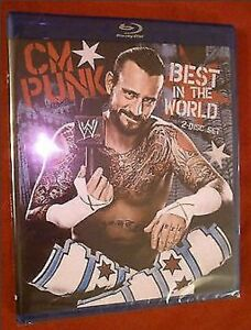 WWE CM Punk: Best in the World (2 Disc Blu-Ray)