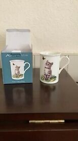 Cat cup as seen on box